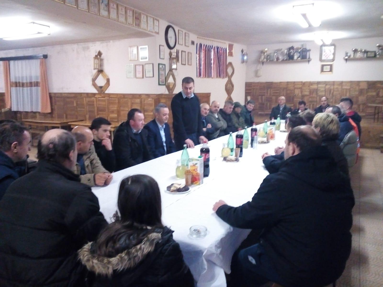Održana izvještajna sjednica ogranka Gornja Rijeka