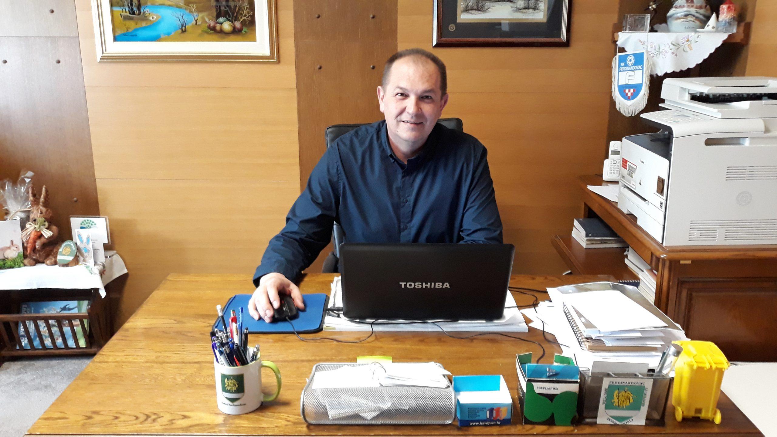 Načelnik Općine Ferdinandovac Vjekoslav Maletić kreće u osvajanje novog mandata