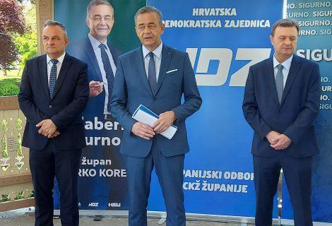 Darko Koren predstavio program za Koprivničko-križevačku županiju